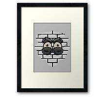 Adventure Time Secret Passage Framed Print