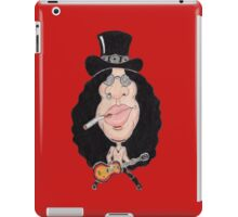 Classic Rock 80's 90's Funny Caricature iPad Case/Skin