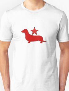 Dachshund Lovers - Red Star T-Shirt
