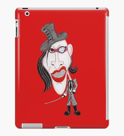 Dark Rock Metal 90's Funny Caricature iPad Case/Skin