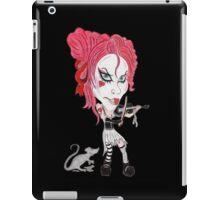 Gothic Punk Alternative Rock Funny Caricature iPad Case/Skin