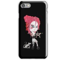 Gothic Punk Alternative Rock Funny Caricature iPhone Case/Skin