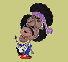 Classic Rock 60's Funny Caricature by MMPhotographyUK