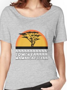the king lion Women's Relaxed Fit T-Shirt