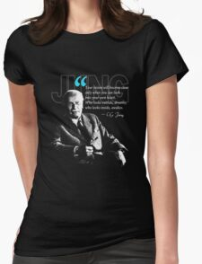 A Quote from Carl Gustav Jung Quote Dreams Womens Fitted T-Shirt