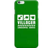 Villager Landscaping phone case iPhone Case/Skin
