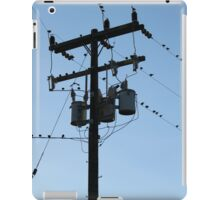 Power Pole iPad Case/Skin