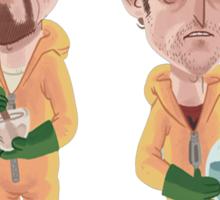 Breaking Bad - Jesse e Walter Sticker