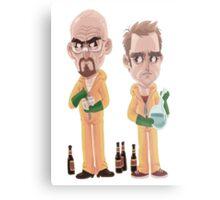 Breaking Bad - Jesse e Walter Metal Print