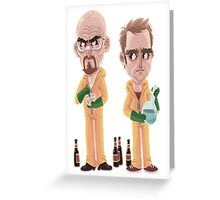 Breaking Bad - Jesse e Walter Greeting Card