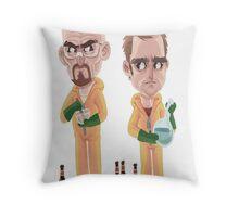 Breaking Bad - Jesse e Walter Throw Pillow