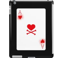 Ace of Heart Poker Card iPad Case/Skin