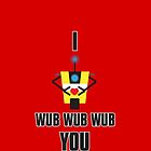 I Wub You Phone by jayrokk