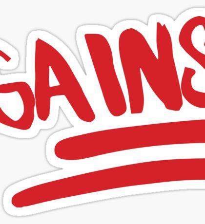 Emoji Gains Sticker