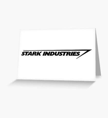 stark industries Greeting Card