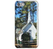 Small Church  at Acworth Beach iPhone Case/Skin