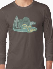 Visit Fabulous Bay Lake! Long Sleeve T-Shirt