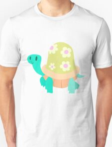 Cute Flowery Turtle T-Shirt