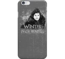 Jon Snow ( Winter is Coming ) iPhone Case/Skin