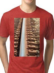 Train Track Tri-blend T-Shirt
