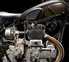 Gilera VL Militare Motore 1 by Frank Kletschkus