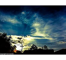 Haiku sky Photographic Print