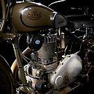 Gilera VL Militare Motore 2 by Frank Kletschkus