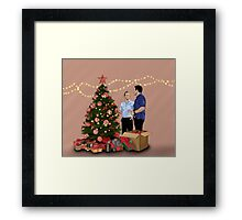 Merry Christmas - McDanno Framed Print