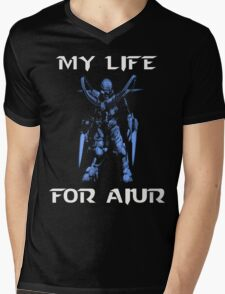 For Aiur Mens V-Neck T-Shirt