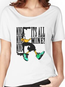 Daffy in Oregon Duck Jordans V Women's Relaxed Fit T-Shirt