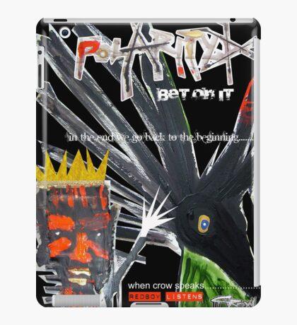 crow iPad Case/Skin