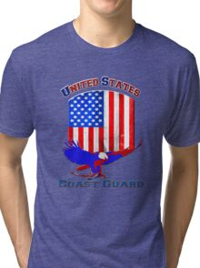 United States Coast Guard Tri-blend T-Shirt