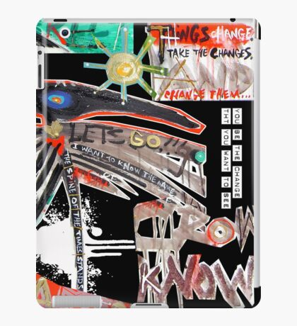 go with crow iPad Case/Skin