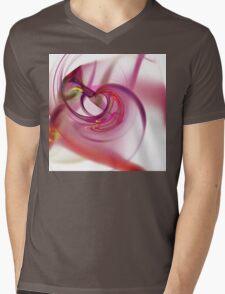 Fractal Mens V-Neck T-Shirt