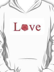 Love Flower Red T-Shirt