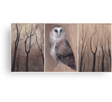 In the Limbs (Tryptych) Canvas Print