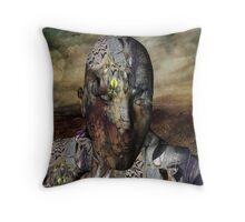 the man who tried to listen Throw Pillow