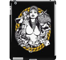 She's SO Gangster Muerte iPad Case/Skin