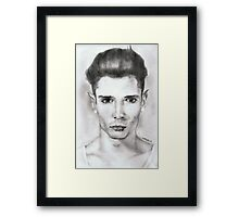 elf....pencil Framed Print
