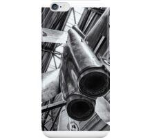 Silver Sky Rocket iPhone Case/Skin