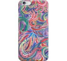 Pink Swirls of Delight iPhone Case/Skin