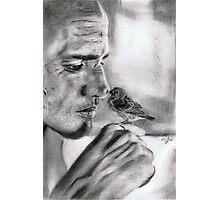 zen ... pencil Photographic Print
