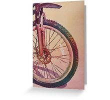 The Wheel in Color Greeting Card