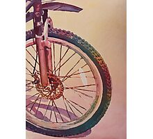 The Wheel in Color Photographic Print