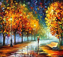 FALL MARATHON by Leonid  Afremov