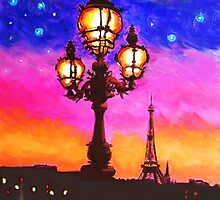 Belle Paris Lantern by Susi Franco