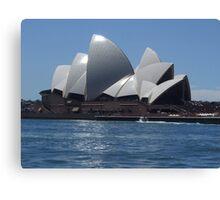 Opera House - Sydney Canvas Print