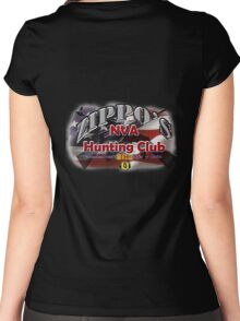 Zippo's NVA Hunting Club Women's Fitted Scoop T-Shirt