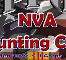Zippo's NVA Hunting Club Sticker