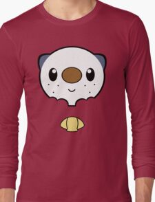 Oshawott Face Long Sleeve T-Shirt